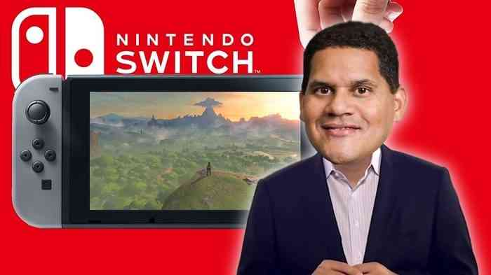 Nintendo Switch My Body is Ready