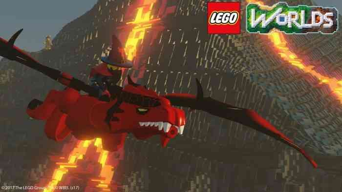 LEGO Worlds release Top Screen