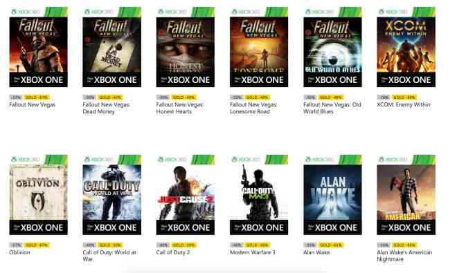 Oblivion MW3 Backward Compatibility
