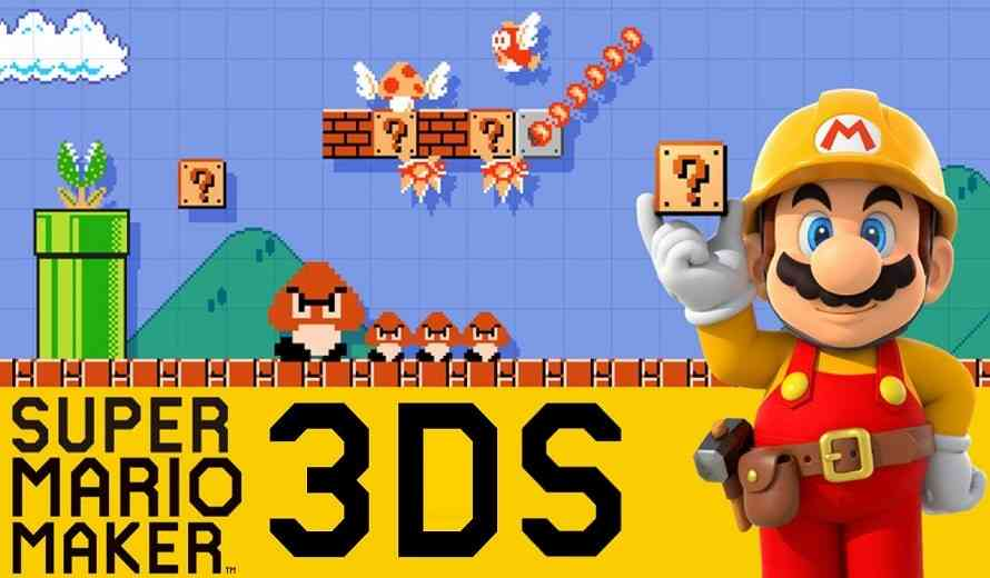super mario maker 3ds review terrific builder but could. Black Bedroom Furniture Sets. Home Design Ideas