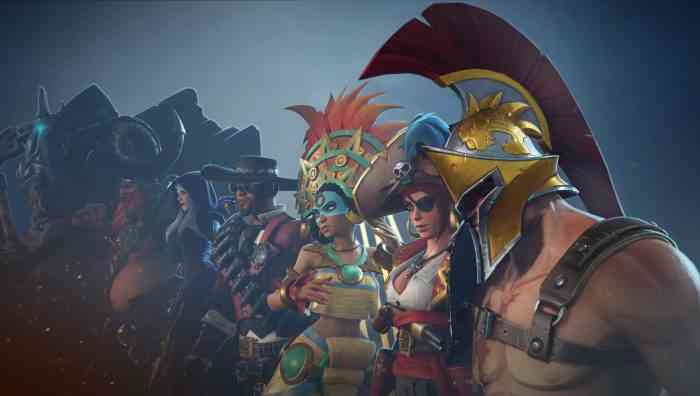 Breakaway character line up