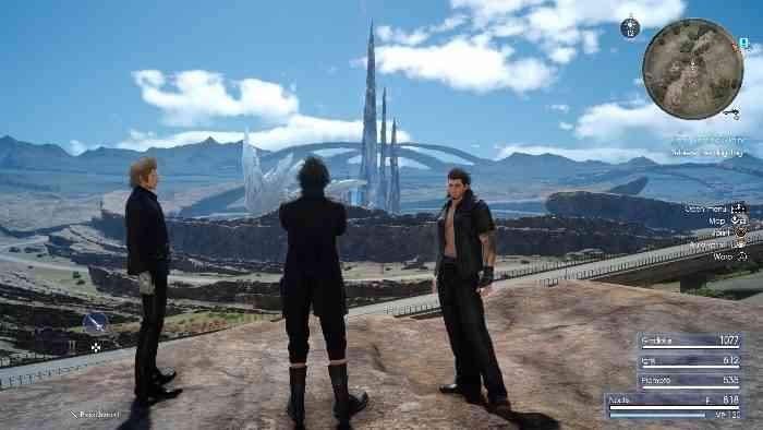 Final Fantasy XV screen 3