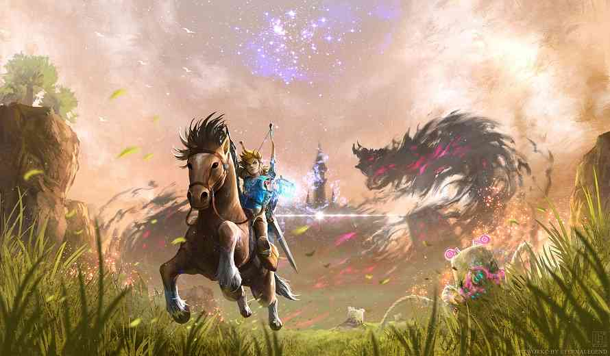The Legend of Zelda: Breath of the Wild Looks Stunning in New Video From The Game Awards