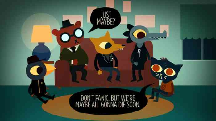 Night in the Woods Top Screen