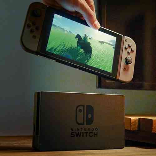 official Nintendo Switch commercial nintendo switch battery