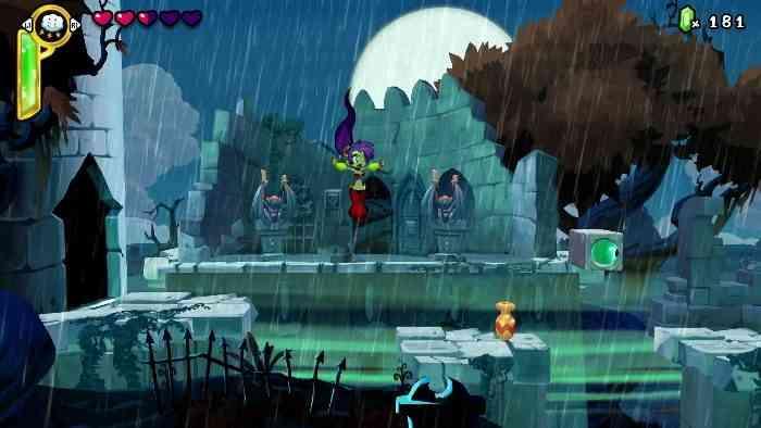Shantae: Half-Genie Hero Screen