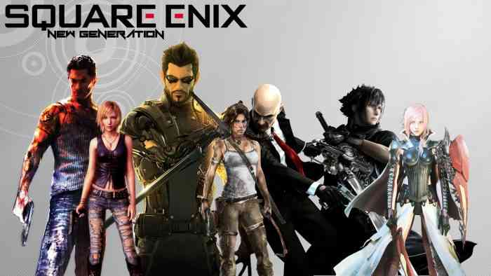 square enix character banner the switch