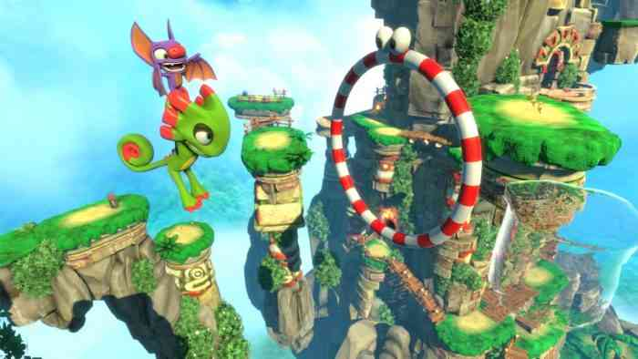 Yooka-Laylee goes gold