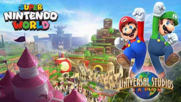 Super Nintendo World Coming to Orlando