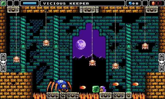 Alwa's Awakening Top Screen