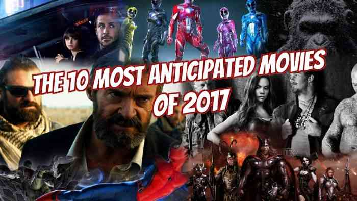 Anticipated Movies 2017 HERO