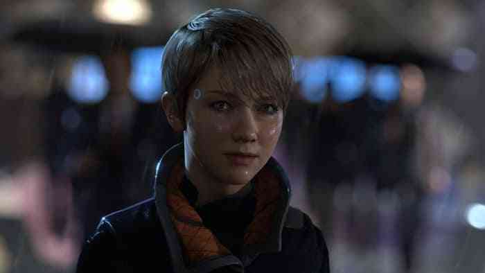 Detroit: Become Human Reveal Top Screen