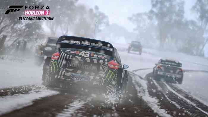 Forza Horizon 3 Blizzard Mountain Top Screen