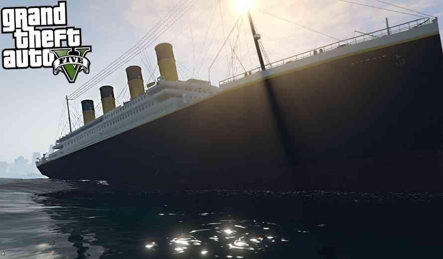 GTA V Titanic