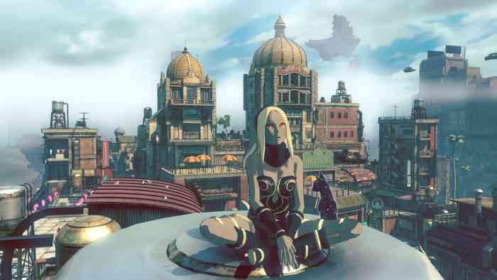 Gravity Rush 2 Top Screen