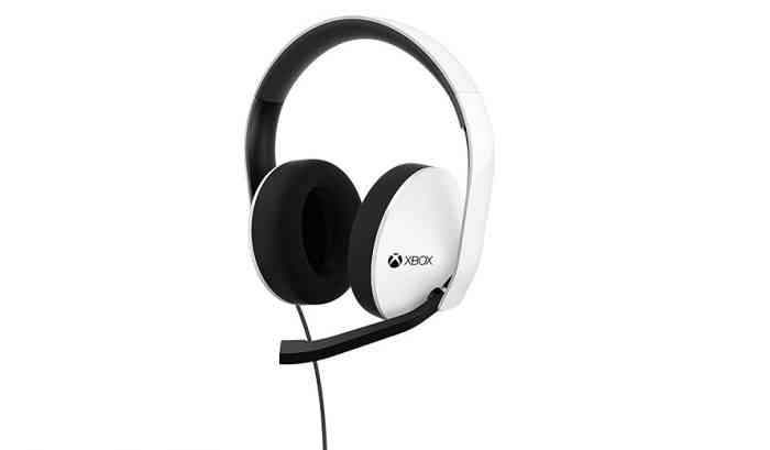 White Xbox One Stereo Headset