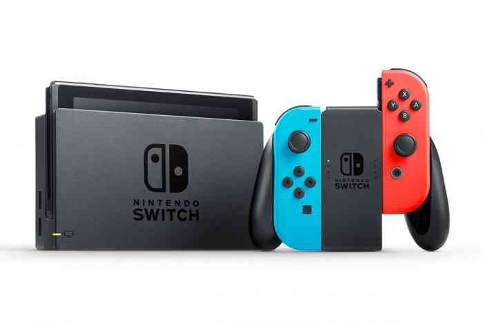 Nintendo Switch Red Blue Joycon