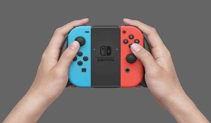Switch joy con grip