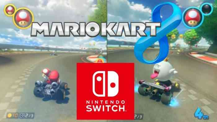 Mario Kart 8 Deluxe to launch on Nintendo Switch in April
