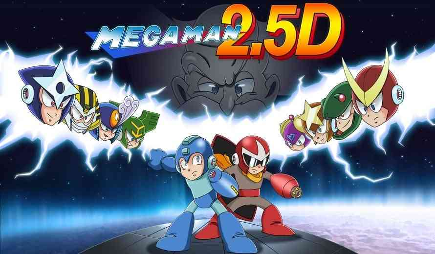 After Eight Years, Fan-Made Mega Man 2.5D Is Now Free To