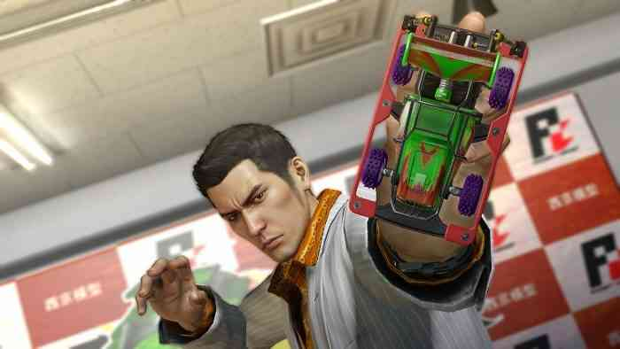 Yakuza 0 Screen