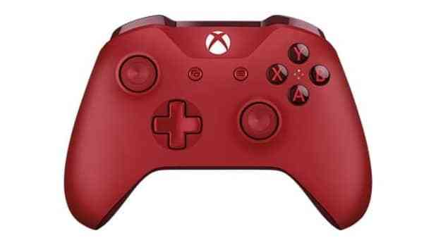 Xbox One Red Slick Red Xbox One Con...