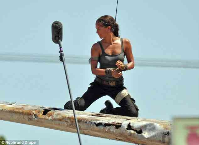 First Look at Alicia Vikander as Lara Croft in Tomb Raider reboot