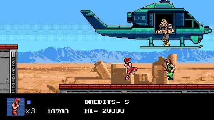 Double Dragon IV Screen