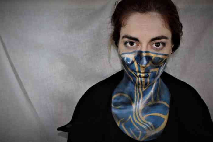 Dishonored 2 Scarf Cosplay