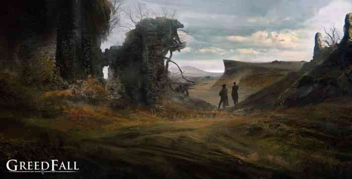 GreedFall Top Screen