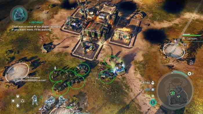 Halo Wars 2 Preview TOP screen