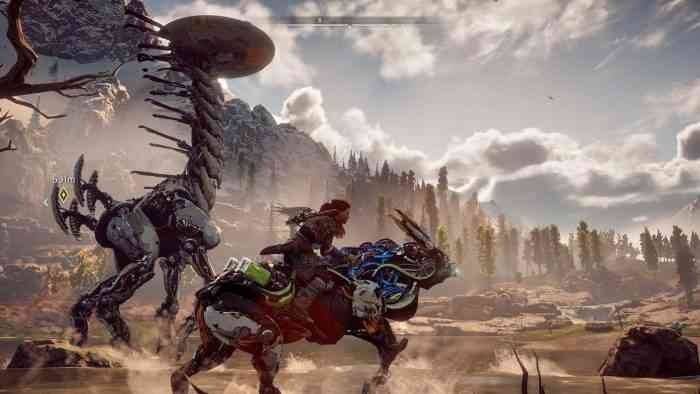Horizon Zero Dawn TOP SCREEN - Override Strider