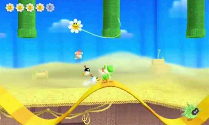 Poochy & Yoshi's Woolly World Top