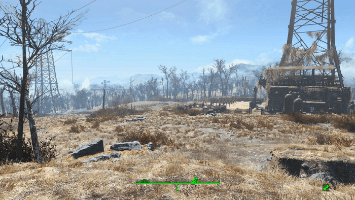 fallout 4 PS4 pro graphic upgrade after