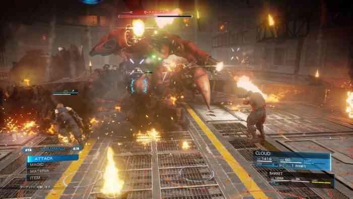 FF7 Remake Scorpion Tank New