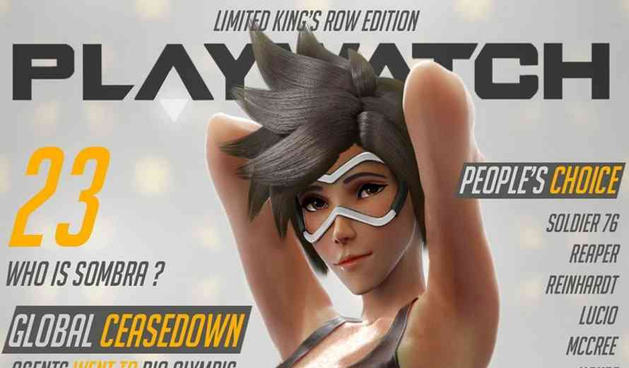 Overwatch Playboy-Style Online Magazine Created by Fans Resurfaces