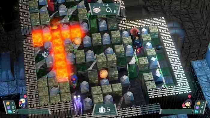super bomberman r gameplay