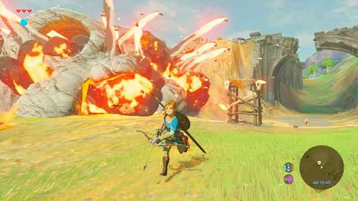 Wild Art Book zelda breath of the wild gameplay screen shot Download the Breath of the Wild Main Theme