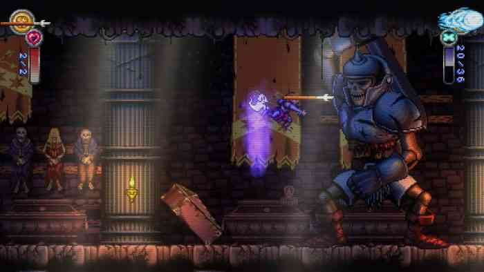 Battle Princess Madelyn Top Screen
