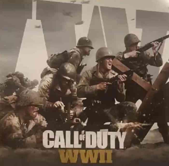 Call of Duty Box Art Leak WWII