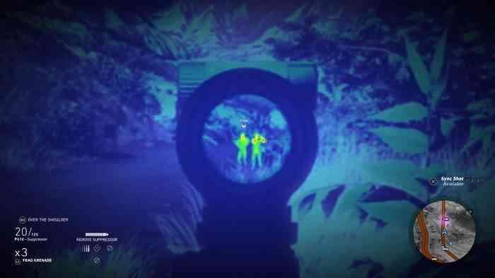 Ghost Recon Wildlands screen