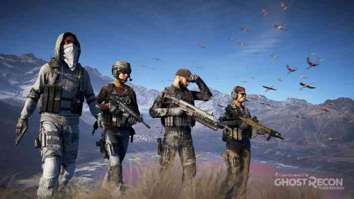 Ghost Recon Wildlands top screen