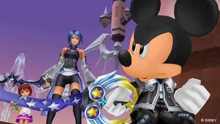 Kingdom Hearts 1.5 + 2.5 HD Remix Screen
