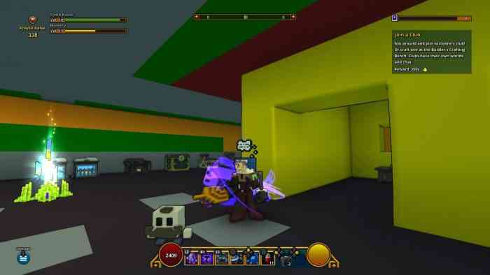 Trove Character View