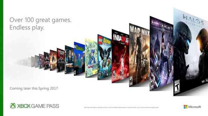 Xbox Game Pass Top