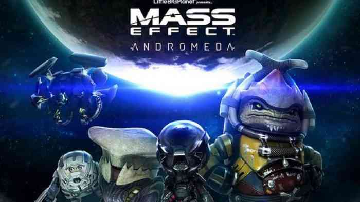LittleBigPlanet 3 Mass Effect Andromeda Costume Pack
