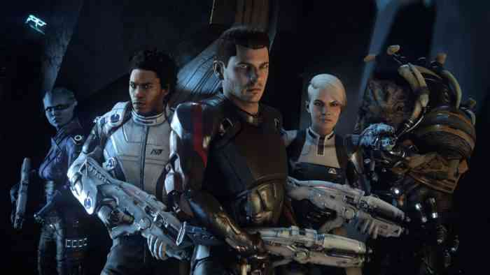 Mass Effect Andromeda Cast