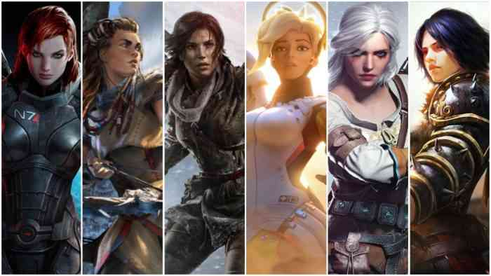 International Women's Day Video Game Females