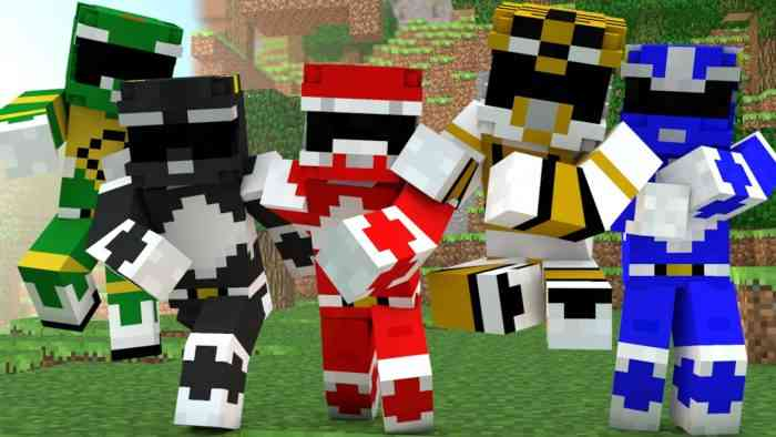 power rangers minecraft