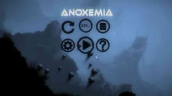 Anoxemia Title Screen